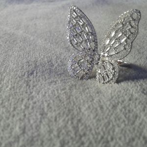 Lifesize Butterfly Ring